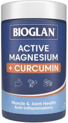 Active Magnesium + Curcumin 120 Tablets x 3 Pack Bioglan