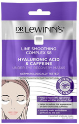 Line Smoothing Complex S8 Hyaluronic Acid & Caffeine Under Eye Recovery Masks x3 Dr. LeWinn's