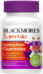 Superkids Growing Bones 60 Gummies Blackmores