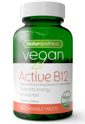 Vegan Active B12 60 Caps x 3 Pack Naturopathica