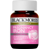 Pregnancy Iron 3x 30 = 90 Tablets Blackmores