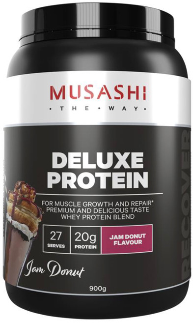 Deluxe Protein Jam Donut 900g Musashi