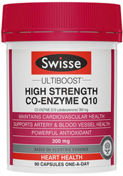 Co-Enzyme Q10 300mg High Strength 90 Caps Swisse UltiBoost