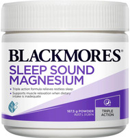 Sleep Sound Magnesium 187.5g Blackmores