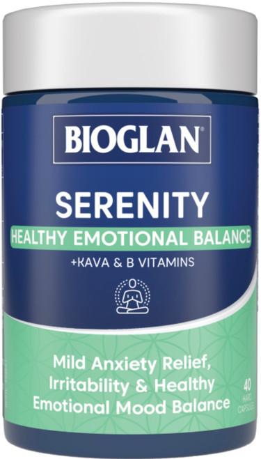 Serenity 40 Caps x 3 Pack Bioglan