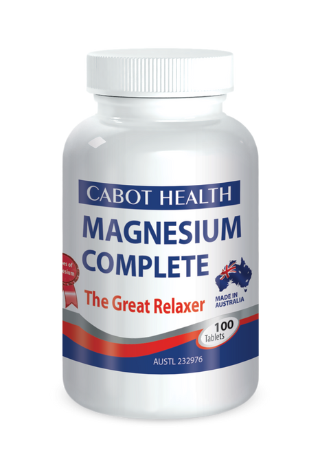 Magnesium Complete 100 Tabs Dr Sandra Cabot