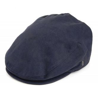 Jaxon   James Brushed Cotton Flat Cap - Navy 0e9aadef2d7d