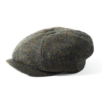 75157e0b1 ORIGINAL Failsworth Carloway Harris Tweed Newsboy Cap | 100% Genuine ...