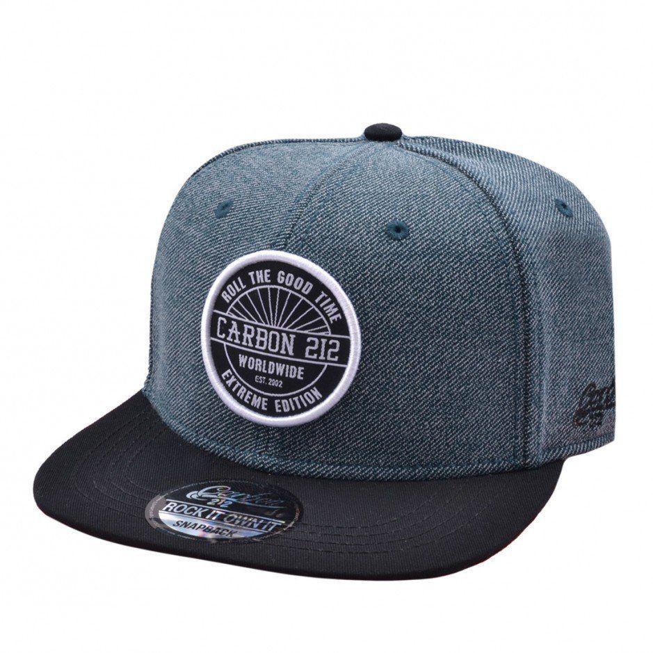 41dd4801e Genuine Original Carbon 212 Blue/Grey Snapback Baseball Summer Sports Cap  Hat
