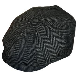 84991edaa7e446 ORIGINAL Stetson Blue Herringbone Linen Flat Cap | 100% Genuine UK ...