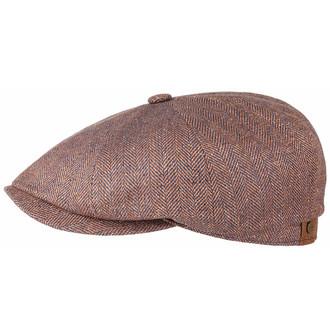 d6b925b1738 Genuine Stetson Pure Silk Rose Gold 8 Panel Newsboy Bakerboy Gatsby Flat  Cap Hat