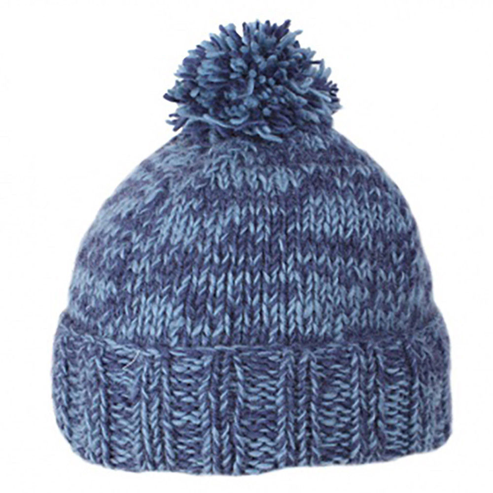 d581a40d511 ... 100% Wool Hand Knitted Nepal Winter Bobble Beanie. Price  £14.95. Image  1