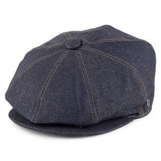 d132198f29e34 ORIGINAL Stetson Blue Virgin Wool Linen Flat Cap