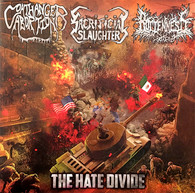 Coathanger Abortion/Sacrificial Slaughter/Rottenness - The Hate Divide split