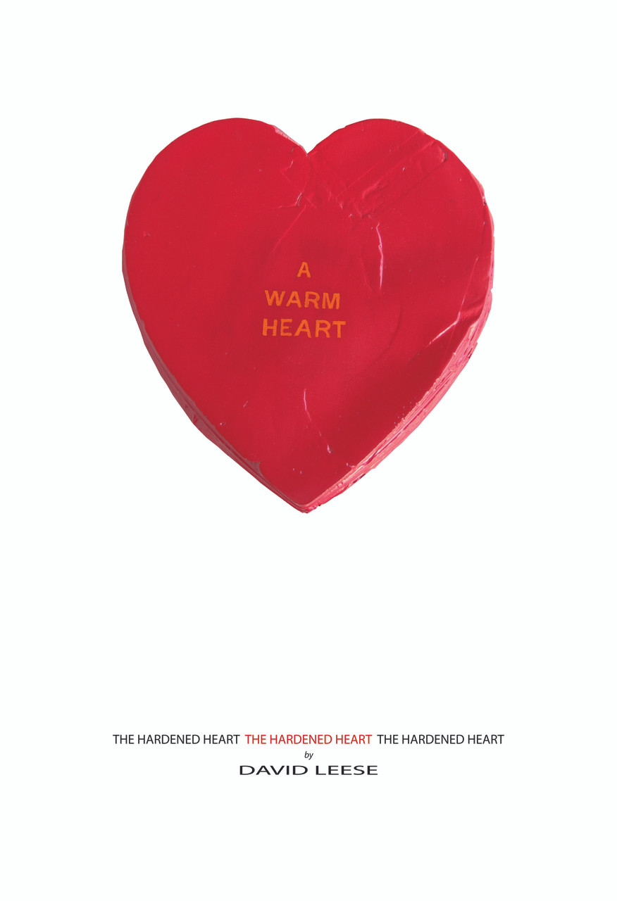 A Warm Heart on White (various sizes)