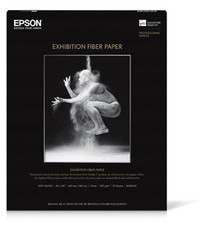 "Epson Exhibition Fiber Paper S045190 44"" X 50' Roll"