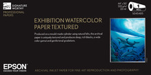 "Exhibition Watercolor Paper Textured 13"" x 19"" 25 Sheets"