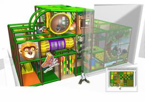 Cheer Amusement Children Play Centre Jungle Themed Indoor Soft Playground Equipment