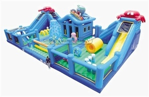 Inflatable Indoor Play Equipment  Ocean Theme Fun City