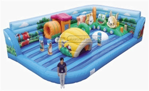 Theme Inflatable Fun City Amusement Equipment