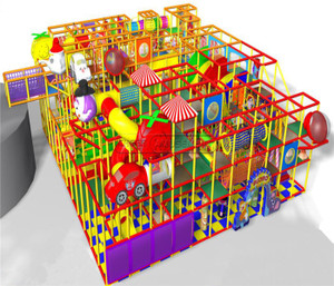 Circus Themed Indoor Playground