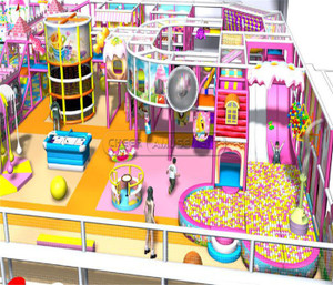 Castle Themed Indoor Playground System | Cheer Amusement