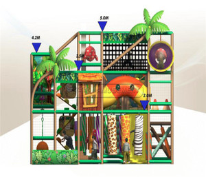 Jungle Themed Indoor Playground System  | Cheer Amusement  20120609-SK-014-1-3