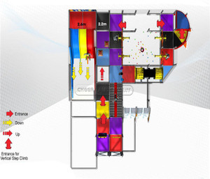 Space Themed Indoor Playground System |Cheer Amusement  20120626-SA-014-2