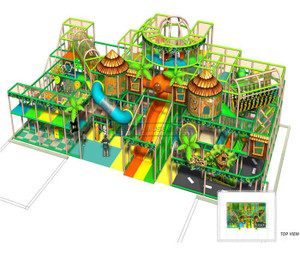 Jungle Themed Indoor Playground System | Cheer Amusement  20120705-AU-004-1