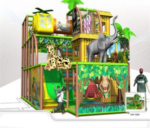 Jungle Themed Indoor Playground System | Cheer Amusement  20120921-020-D-1