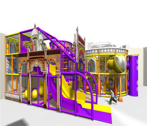 Castle Themed Indoor Playground System | Cheer Amusement 20121230-007-C-1