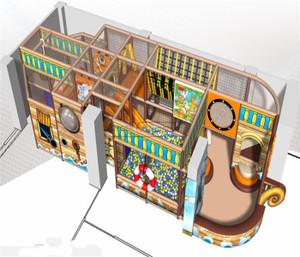 Pirate Themed Indoor Playground System | Cheer Amusement 20130117-020-M-1