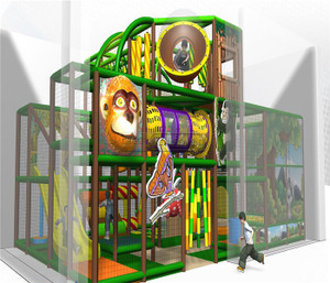 Jungle Themed Indoor Playground System | Cheer Amusement 20130226-029-M-1