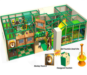 Jungle Themed Indoor Playground System | Cheer Amusement 20130407-003-J-1