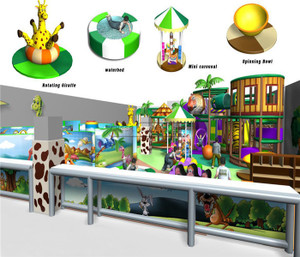 Jungle Themed Indoor Playground System | Cheer Amusement 20130508-007-C-2