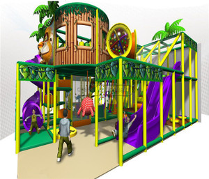 Jungle Themed Indoor Playground System | Cheer Amusement 20130513-020-M-2