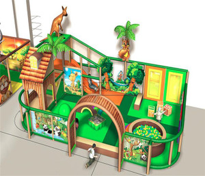 Jungle Themed Indoor Playground System | Cheer Amusement 20130606-004-WU-1