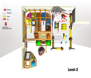 Candy Themed Indoor Playground System | Cheer Amusement 20130609-020-WH-1