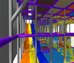 Castle Themed Indoor Playground System | Cheer Amusement 20130620-004-C-4