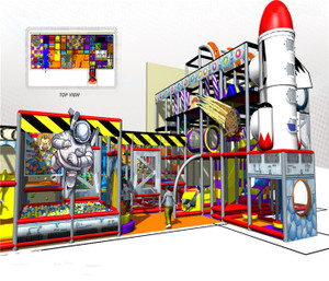 Outer Space Themed Indoor Playground System | Cheer Amusement 20130624-020-D-1