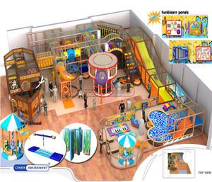 Pirate Themed Indoor Playground System | Cheer Amusement 20130806-004-M-1
