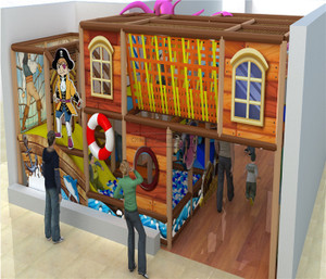 Pirate Themed Indoor Playground System   Cheer Amusement 20130816-029-S-1