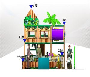 Jungle Themed Indoor Playground System   Cheer Amusement 20131009-020-M-1