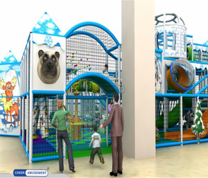 Winter / Ice Themed Indoor Playground System   Cheer Amusement 20131119-003-B-1