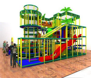 Jungle Themed Indoor Playground System   Cheer Amusement 20131210-020-WH-4