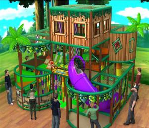 Jungle Themed Indoor Playground System   Cheer Amusement 20140127-014-S-1