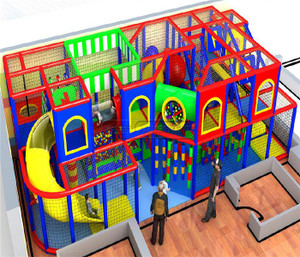 Indoor Playground System | Cheer Amusement 20140127-014-S-2
