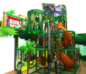 Jungle Themed Indoor Playground System   Cheer Amusement 20140127-020-WH-1