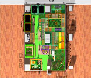 Jungle Themed Indoor Playground System   Cheer Amusement 20140521-014-C-2