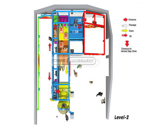 Village Themed Indoor Playground System   Cheer Amusement 20140924-020-S-1